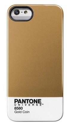 esempio iphone 5 pantone metallic gold